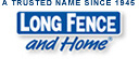 Long Fence and Home Logo
